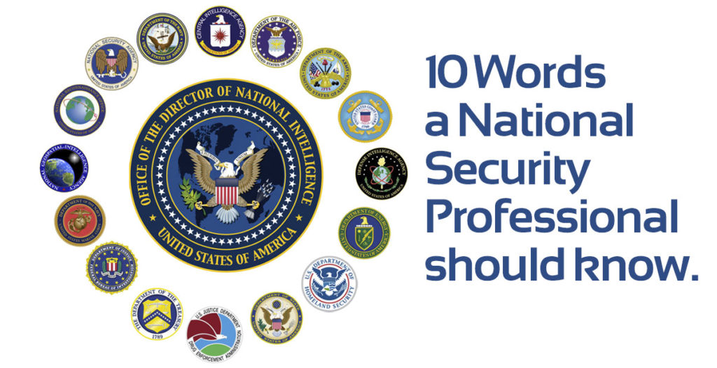 Ten Arabic Words: A challenge to national security professionals engaged in the Global War On Terror