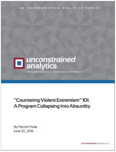 """Countering Violent Extremism"" 101"